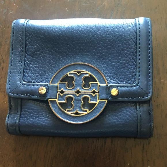 Tory Burch Handbags - Tory Burch Navy Wallet